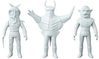 [東映レトロソフビコレクションM(ミドル)]原型スクープは『仮面ライダー』から「トリカブト」「エイキング」「狼男」だ!