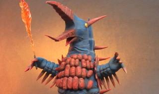 大怪獣シリーズ ファイヤーモンス ショウネンリック限定商品