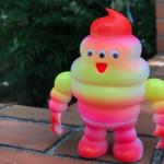 アートジャンキーソフビシリーズ ソフトマン(ビタミンカラー)