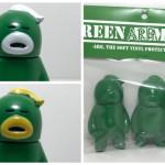 2017年6月18日21時よりHARIKEN氏の[アレの見守りソフビ人形]の「【GreenArmy】バージョン」が3種登場!