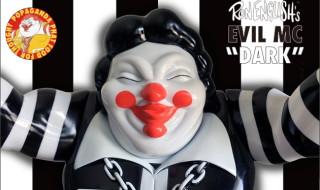 2017年7月21日0時〜2017年7月23日23時59分までBlackBook Toyが「Ron English × BlackBook Toy EVIL MC Dark」を抽選受付!