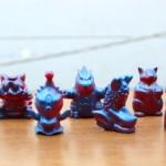 2017年7月30日の「WF2017夏」、One up.情報第3弾! なんと2004年に結成された「怪獣派」が製作した指人形が復活!