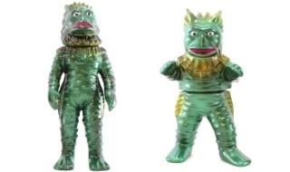 2017年7月8日からの「ウルトラゾーン・墓場の大怪獣展」展示入替&「海底原人ラゴン(子)」来場にあわせてU.S.TOYSの「ラゴン」限定版が新登場!