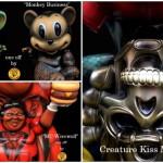 2017年7月30日の「WF2017夏」のBlackBook Toyが情報第2弾! 「Mousezilla」「Kiss My Ass」「EVIL MC」のMarvel Okinawa氏ワンオフを準備中!