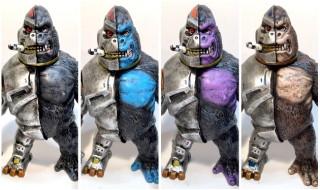 2017年7月30日の「WF2017夏」に怪獣芸術家ピコピコ氏が参戦! そこで氏がデザイン&原型を手がけた「クラッシャーG」の重塗装カスタムを準備中!