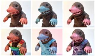 2017年7月30日の「WF2017夏」へ出店する怪獣芸術家ピコピコ氏からギリギリで「モグドン ピコピコハンドペイント」情報到着!