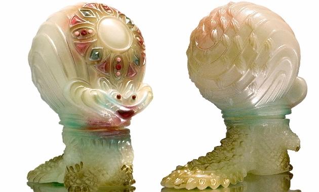 2017年7月22日〜2017年7月23日に開催される「怪獣マッシュアップ2017」へgumtaro氏が「宇宙魚人ギョグラ-蓄光-gumtaro彩色版」を5点発売!