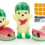 2017年7月30日の「WF2017夏」へ6 28(six twentyeight)が参戦! そこで「MITT Bumper Racer(ミット)」の「GID スイカ」&「GID Blank」を発売!