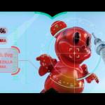 2017年7月30日の「WF2017夏」にBlackBook Toyが参戦! Ron English氏との「Mousezilla」で「Magma」を発売!