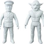 [東映レトロソフビコレクションM(ミドル)]原型スクープは『仮面ライダー』から「ゾル大佐」と「狼男」だ!