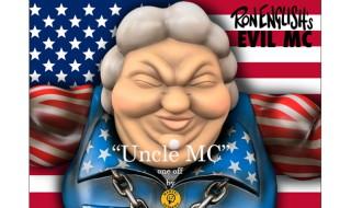 """2017年6月30日0時よりBlackBook Toyが「Ron English × BlackBook Toy EVIL MC """"Uncle MC""""」の抽選受付を開始!"""
