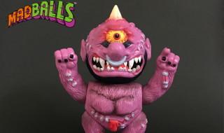 2017年8月26日よりショップ・山吉屋にてblackdots製「MADBALLS」の「Horn Head Original Color」を発売開始!