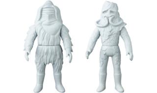 [東映レトロソフビコレクションM(ミドル)]原型スクープは『仮面ライダー』から「スノーマン」と「ゴースター」だ!