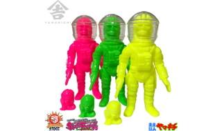 山吉屋が2017年9月24日開催の「スーパーフェスティバル75」へ出店! そこで「ネオンカラー」な限定版「未来猿人ヤマキチ」を発売!