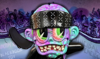 """2017年9月9日0時よりBlackBook Toyが「Suicidal Tendencies × BlackBook Toy 'S""""K""""UM-kun""""Devil""""edition」を発売開始!"""