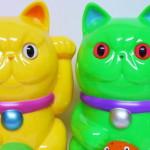 2016年10月7日からの「Taipei Toy Festival 2017」へ出店するrefreshment toyから限定情報第2弾! 「エキゾチック招き猫」2種を発売!