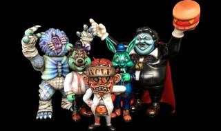 今月末のハロウィンにBlackBook Toyから素敵なMonstersが出現! Marvel Okinawa氏のワンオフを抽選販売!!
