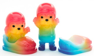 """2017年10月2日〜2017年10月3日受付でFEWMANYが6 28(six twentyeight)の新作「MITT Bumper Racer(ミット)""""Rainbow""""」を抽選販売!"""