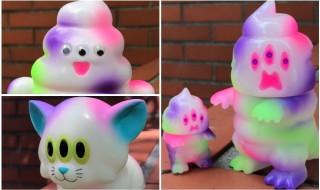 2017年10月7日からの「Taipei Toy Festival 2017」でART JUNKIEが「ソフトマン」「シットン&ミニシットン」「カームキャット」の「TTF限定カラー」を発売!