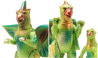 2017年11月3日からの「マルサン玩具まつり2017秋」にてマルサンが「大巨獣ガッパ 50周年版」として「おす」「めす&仔」の「抹茶アイスカラー」を発売!