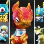 2017年10月7日からの「Taipei Toy Festival 2017」でukydaydreamerが最新作「Qutoo red dragon」に始まり、久しぶりの「UD MASK」などを準備中!
