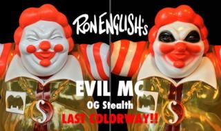 2017年10月22日0時よりBlackBook Toyが「EVIL MC」の新色「OG Stealth」を発売開始! そして重大発表あり!!