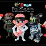 2017年11月25日0時よりBlackBook Toyが先日開催の「DesignerCon2017」にて販売したソフビを先着&抽選販売開始!