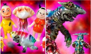 2017年11月28日締切でBLObPUSがヤモマーク製「守宮(ヤモリ)餃子房セット」、Jetturre製「恐ろしジョーズ カイハンマー」、それぞれの蓄光版&セットを受注中!