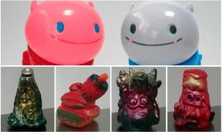 2017年12月1日から開催される「東京コミコン2017」でOne up.が怒涛の限定を準備中! 第2弾は立体怪獣作家・gumtaro氏の「ちくわん」&「gumtaroのちくわミニシリーズ」だ!!