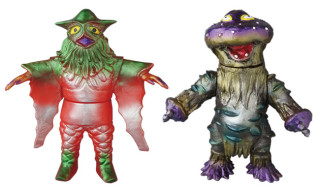 ベアモデル製「ミラクル星人」「マシュラ」がメディコム・トイ限定版として11月24日から抽選販売の受付開始!足型シール付き!