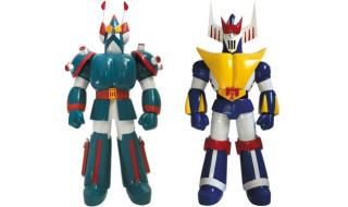 2017年11月24日受注開始! 海外メーカー・工匠堂のロボットソフビシリーズ第2弾として 『ブロッカー軍団IVマシーンブラスター』から「ブルシーザー」「ロボクレス」が日本正式発売決定!