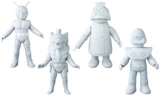 2017年11月発表の[東映レトロソフビコレクション]の原型スクープは『仮面ライダーZX』と 『がんばれ!! ロボコン』から!
