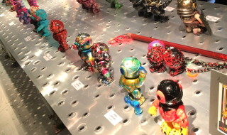 2017年12月2日&3日のに開催された「blackdots & MILKBOYTOYS presents! MADBALLS CUSTOM SHOW IN HARAJUKU」へ行ってきた!
