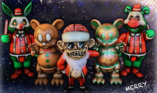 今年のクリスマスににBlackBook Toyから素敵なプレゼントが到着! 「BBT X' mas One Offs by Marvel Okinawa」を抽選販売!