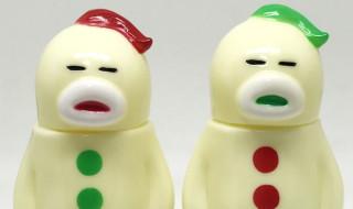 2017年12月9日21時よりHARIKEN氏がクリスマスカラーな[アレの見守りソフビ人形]を発売開始!