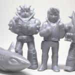 「ミラクルロボットフォース資料展」でビッグワンクラフト製[プリケッツ]最新作の『合身戦隊メカンダーロボ』も先行発売中だ!
