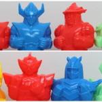 「ミラクルロボットフォース資料展」にて完売御礼? ビッグワンクラフト製[プリケッツ]の『ブロッカー軍団Ⅳ マシーンブラスター』&『超合体魔術ロボギンガイザー』の新色を先行発売!