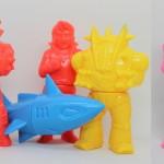 ビッグワンクラフト製「プリケッツ 合身戦隊メカンダーロボ」に新色登場! こちらも「ミラクルロボットフォース資料展」で先行発売開始!