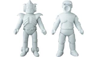 2017年12月発表の[東映レトロソフビコレクション]の 原型スクープ第1弾は『宇宙鉄人キョーダイン』から「グランゼル」と「バズカード」だ!