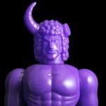 2018年1月20日よりショップ・One up.限定でファイブスタートイ製「バッファローマン 消しゴムパープルver.」発売開始!