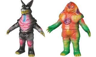 ベアモデル × LEOそふび坊や氏、第2弾となる「ウルフ星人」&「アトラー星人」が メディコム・トイ限定版として新登場!