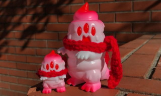 2018年1月12日〜2018年1月16日受付でART JUNKIEがかわいい「とぐろ怪獣シットン&ミニシットン(バレンタイン ver.)」を抽選販売!