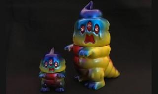 2018年2月7日〜2018年2月12日受付でART JUNKIEがかわいい「とぐろ怪獣シットン&ミニシットン(ラインストーンアイズ ver.)」を抽選販売!