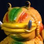 祝!MONSTOCK!!11周年情報第3弾! 2018年3月3日より「杉山実アバロン島伝説シリーズ 伝説巨蛙フロッゲン『11周年記念Ver.みかんイエロー』」発売開始!