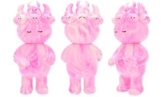2018年2月18日の「WF2018冬」へ参加する縁起物百貨店が「縁起物百貨店オリジナル イムイムUAMOU MARBLE SERIES_pink rose」を準備中!
