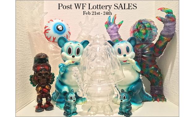BlackBook Toyが「Post WF Lottery」開催! 2018年2月21日0時〜2018年2月24日23時59分受付で新作メインで抽選販売!!
