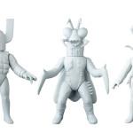 2018年3月発表の[東映レトロソフビコレクション]の原型スクープは 「磁石団長」「カマキリ獣人」「地獄サンダー」だ!