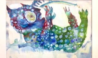 画家・ナガモトマイ氏のミニ個展「小さな個展『月の裏側』」の模様をレポート!