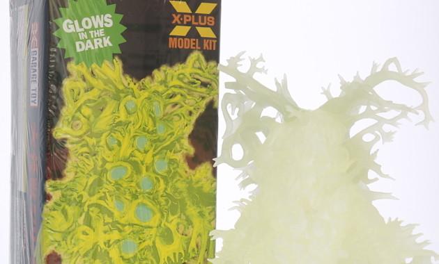2018年4月29日の「スーパーフェスティバル77」へ出店するX-PLUSが「大怪獣シリーズ ワイアール星人 蓄光ver. ソフビ組立キット」を発売!