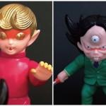 2018年4月29日の「スーパーフェスティバル77」でGEEK LIFE™が「『猫目小僧』猫目小僧 対 妖怪百人会会長セット第二期カラー」を準備中!